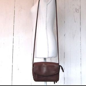 Fossil Small Leather Crossbody Purse / Bag